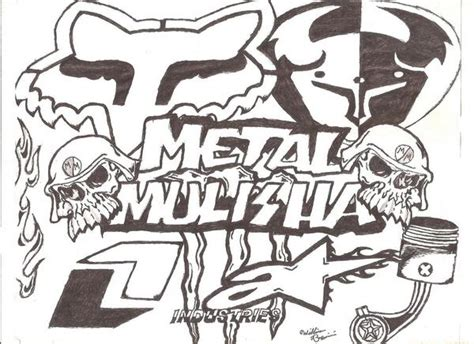 metal mulisha drawings