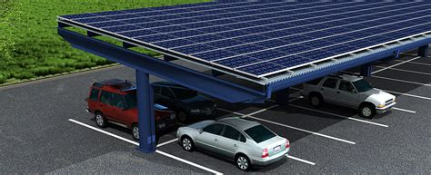 One Car Carport grid tied ground mounted and carport pv systems atkins