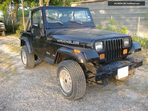 Jeep Wrangler Yj 1989 1989 Jeep Wrangler Yj