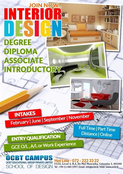 certificate in interior design certificate in interior design ocbt cus coursenet