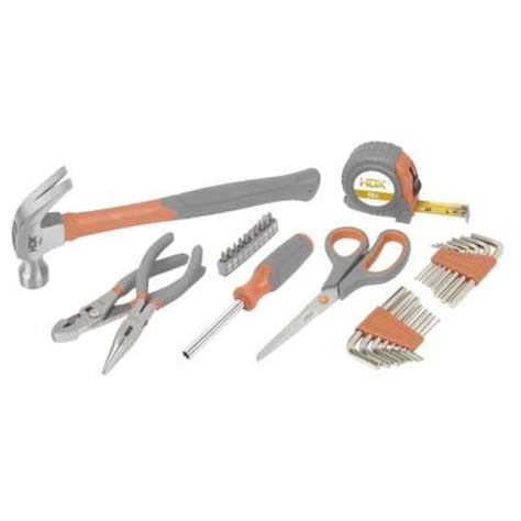 hdx home owners tool set 32 98406 the home depot