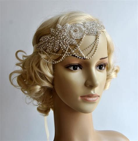 how to make a 1920s hairpiece 1920s headpiece ebay long hairstyles long hairstyles