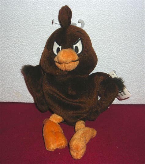 warner brothers studio store henry hawk  plush bean bag toy ebay