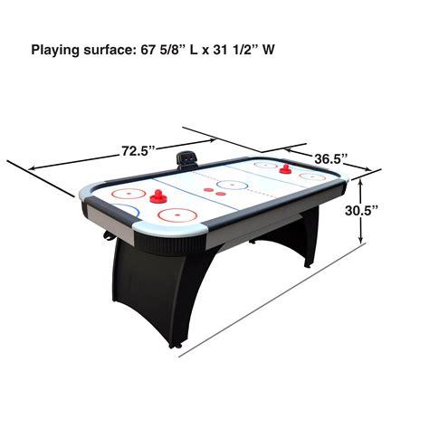 air hockey table amazon amazon com hathaway silverstreak 5 foot air hockey game