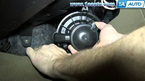 fans that work like ac how to install replace heater ac blower fan motor 2004 08