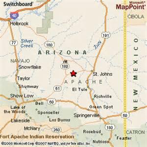 concho arizona map concho arizona