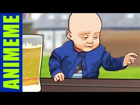 Kid Drinking Beer Meme - drunk baby know your meme