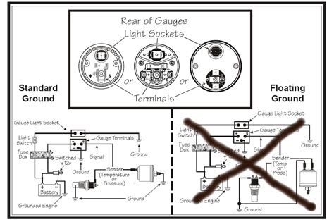 Vdo Oil Pressure Gauge Wiring Inspirational Wiring