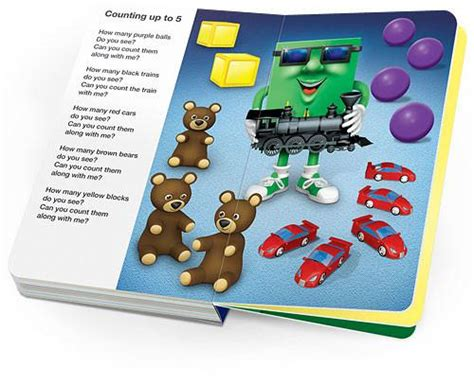Counting Board Book colors shapes counting board book rock n learn