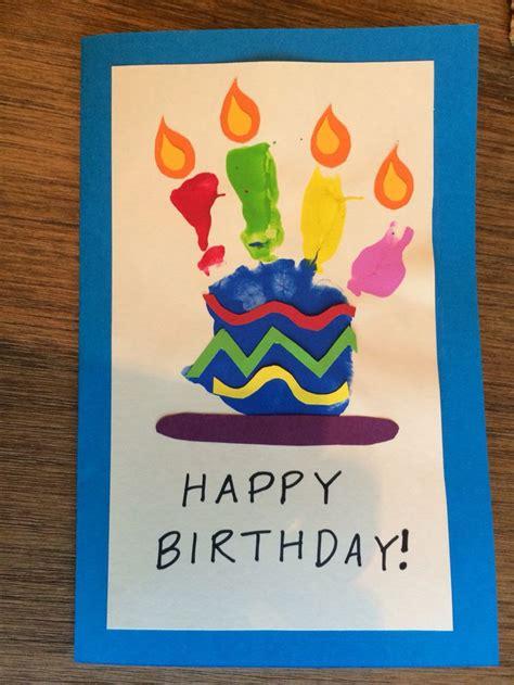 card handprint 17 best ideas about happy birthday on