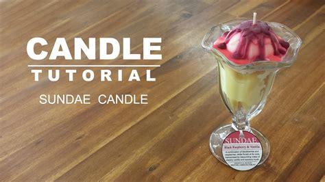 candele design sundae candle design