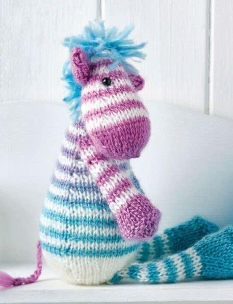 free knitting pattern zebra toy horse zebra and donkey knitting patterns in the loop