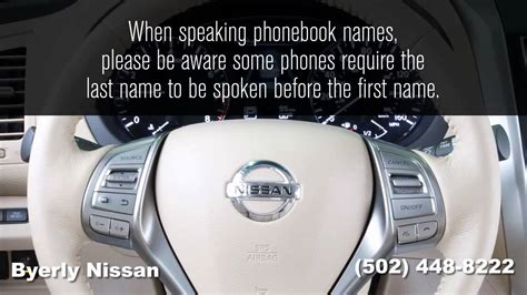 how to use bluetooth in nissan altima how to use the bluetooth phone on your 2014 nissan altima