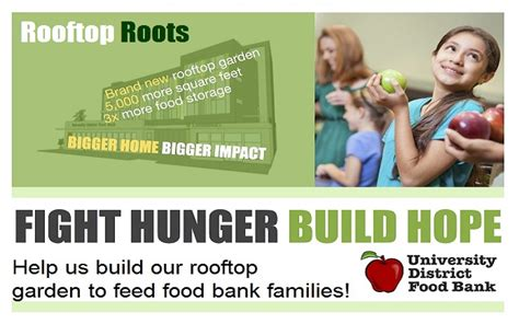 us bank help district food bank help us grow roots in our