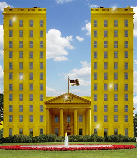 trump gold house photoshop battle predicts trump s white house decor