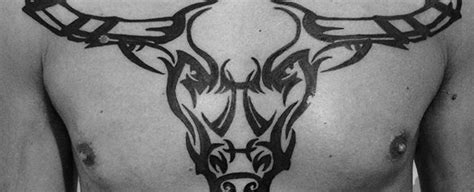 tribal bull skull tattoos 70 bull skull designs for western ideas