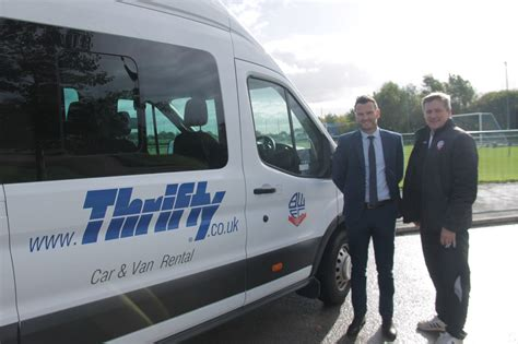 Thrifty Car Types Uk by Wanderers Team Up With Thrifty Car And Rental News