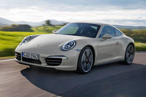 Porsche 911 50 Jahre by 50 Jahre Porsche 911 Sondermodell Iaa 2013 Autobild De