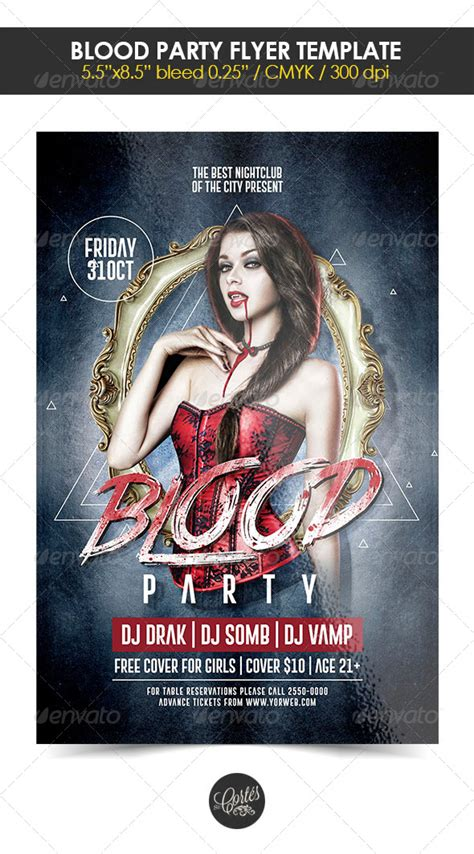 30 free psd themed party flyer templates free psd templates