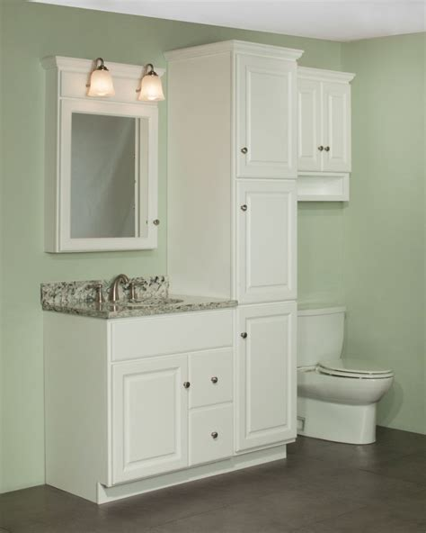 Bathroom Vanities With Linen Cabinet Bathroom Vanity With Matching Linen Cabinet Home Design Ideas