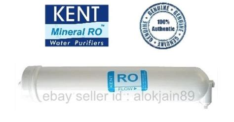 Spare Part Ro kent ro membrane genuine kent spare parts sealed pack ro