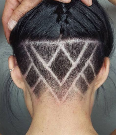 haircuts with designs in the back 23 undercut hairstyles for women that are a party in the