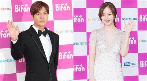 film lee min ho dan moon chae won lee min ho senang terima award di bifan bareng moon chae