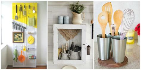 Kitchen Utensil Storage Ideas by Diy Kitchen Utensil Organizers Kitchen Utensil