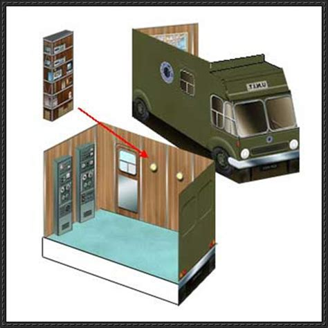 Papercraft Mobil - papercraftsquare new paper craft doctor who unit