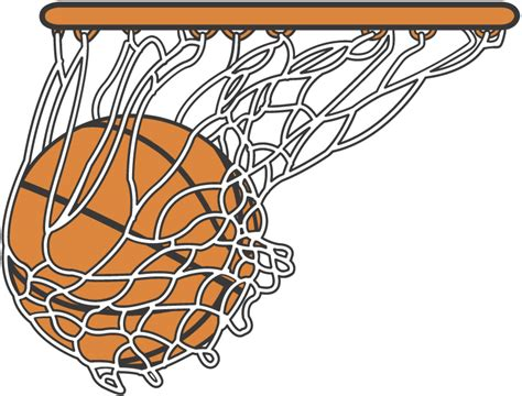 basketball net clipart basketball going through net clipart clipart panda