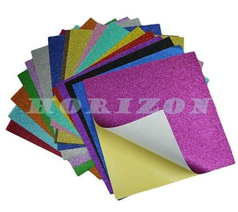 Thin Craft Paper - 2mm thick colorful craft glitter soft foam sheet thin