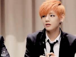 kim taehyung orange hair bts v kim taehyung v with his orange hair x x x for