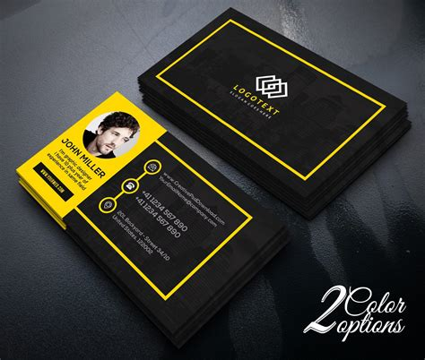 graphic design card templates psd free graphic designer business card free psd