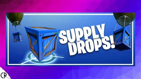 supply drops lets play fortnite youtube