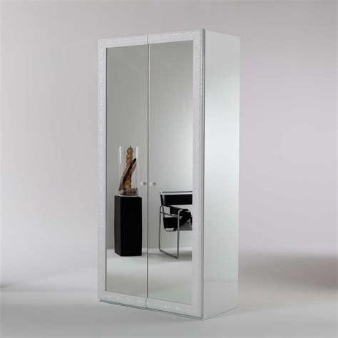 kleiderschrank spiegel schiebetüren spiegel kleiderschrank adnine in wei 223 100 cm pharao24 de