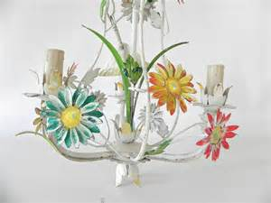 vintage tole chandelier vintage metal tole floral chandelier omero home