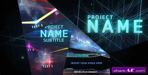 template after effects project the future after effects project videohive 187 free