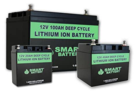 12v marine lithium batteries deep cycle starting - Lithium Ion Boat Battery