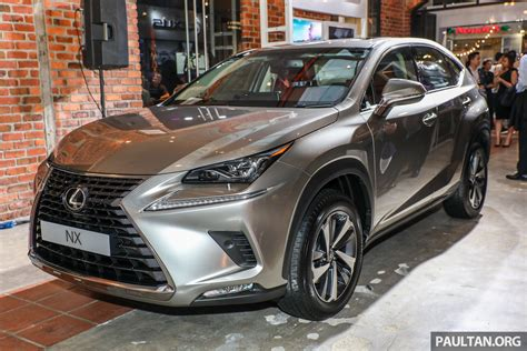 lexus malaysia lexus malaysia previews rx 350l seven seater updated nx