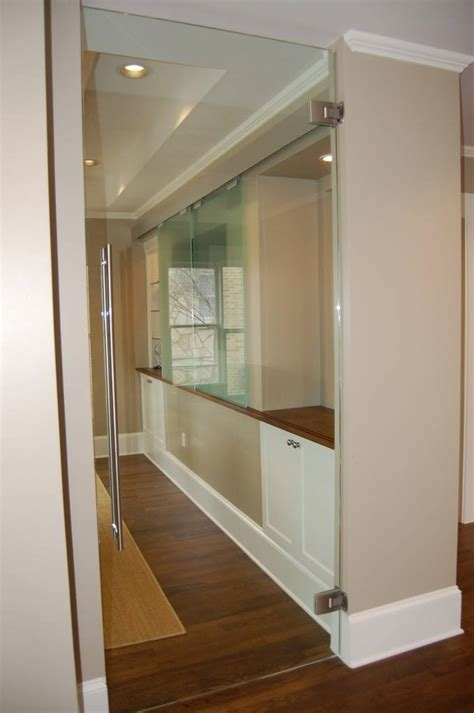 Swinging Interior Door Heavy Glass Frameless Doors Anchor Ventana Glass
