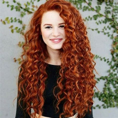 perm waves for course hair who else loves this curly red hair madelame redhead