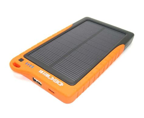 Power Bank Solar Samsung promotional solar charger 7200mah power bank solar panel chargers external battery usb charger