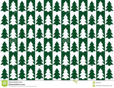 christmas tree grove pattern christmas trees pattern background stock vector image