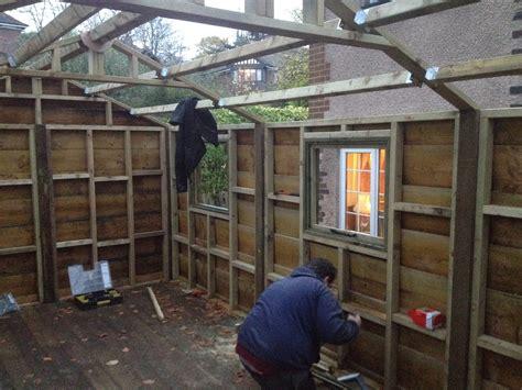 rustic shed  raised platform ebay