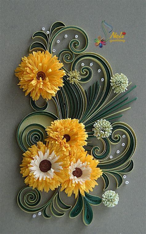 quilling gerbera tutorial 185 best quilling flowers daisies gerberas images on