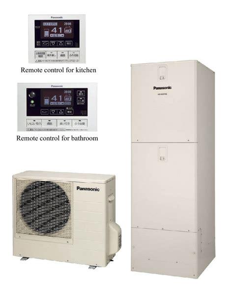 panasonic bathroom heater panasonic s water heater detects you entering bathroom