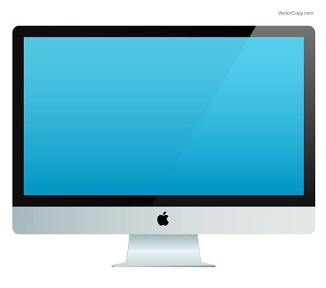 Monitor Imac apple imac free vector clipart image 13 vectorcopy