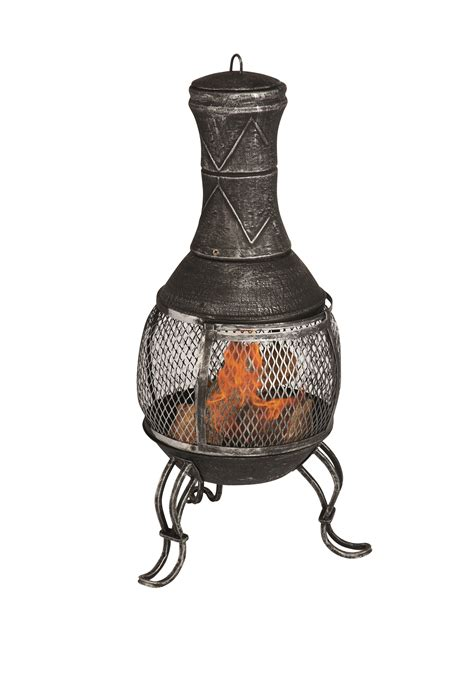 ribbon kamineinsatz iron chimenea la hacienda cast iron mesh chimenea uk