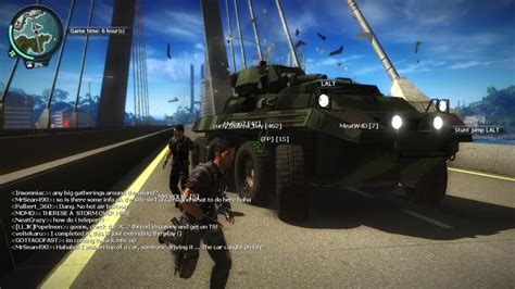just cause 2 multiplayer mod game modes glorious schadenfeude just cause 2 multiplayer mod