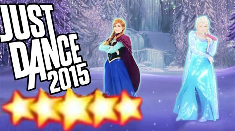 where does st go let it go disney s frozen just dance 2015 full gameplay 5